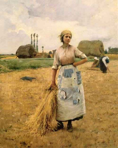 Women At Harvest In Auvers-sur-Oise