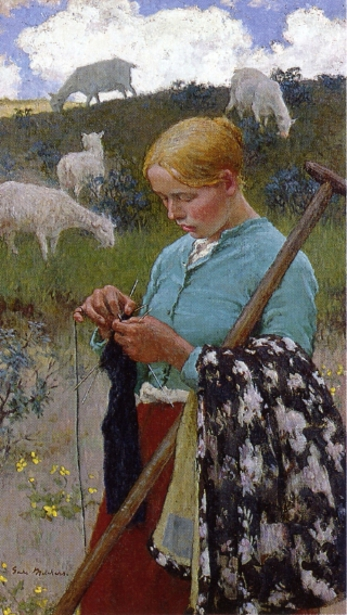 Audrey The Shepherd Lass