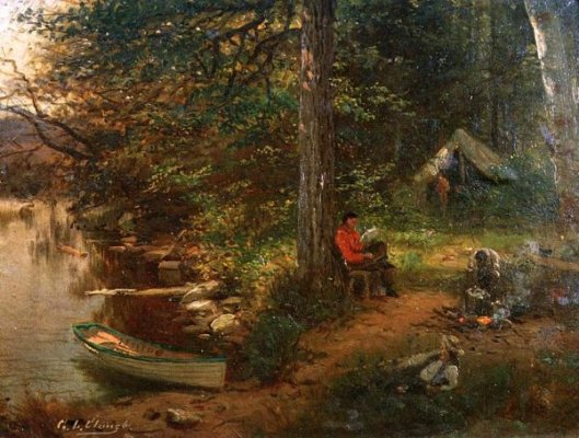 Camping Out In The Adirondacks