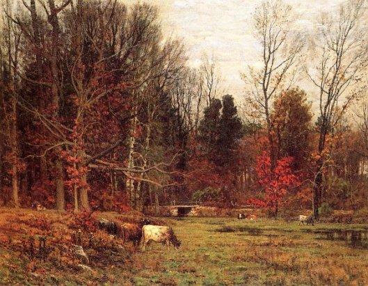 Cattle Grazing - November
