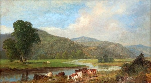 Connecticut Landscape With Cattle (with Edward D. Nelson)