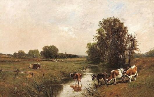 Cows By A Stream (with Edward B. Gay)