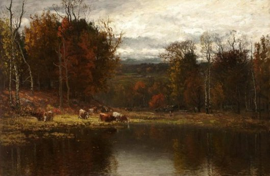 Late Autumn In New England