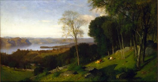 Looking North From Ossining, New York