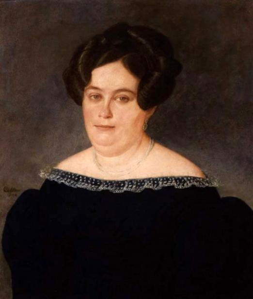 Madame Furcy Verret, née Elmire Olivier de Vezin