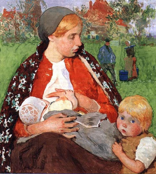 Madonna Of The Fields