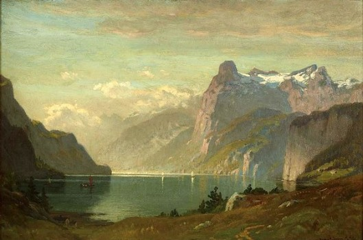 Morning, Lake Lucerne