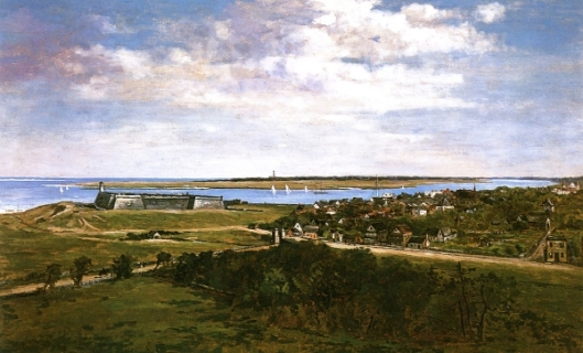 Panorama Of The City Of St. Augustine