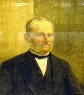 Posthumous Portrait Of Cornelius Buckley Erwin