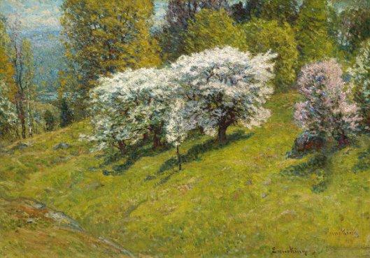 Spring Hillside