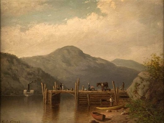 Steamboat Landing On Lake George