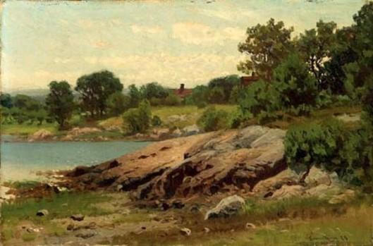 Summer Lake Shore