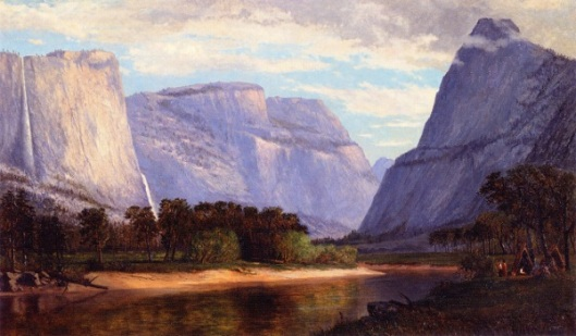 The Hetch Hetchy Valley On The Toulumne River, California