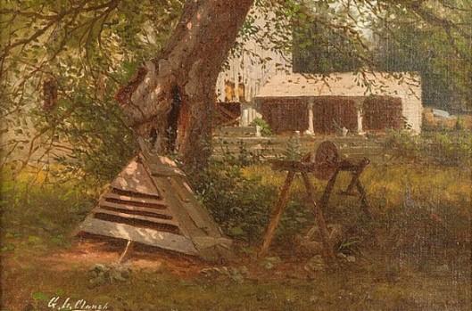 View Of A Backyard