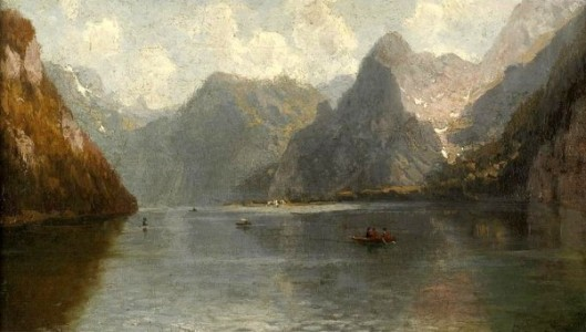View Of A Swiss Lake
