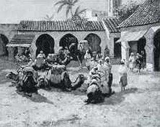 An Arab Piazza