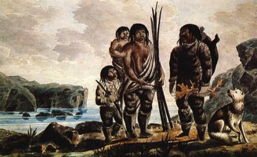 An Eskimo Family