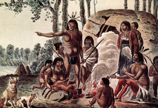 An Ojibwa Family