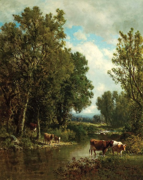 Cattle By The River