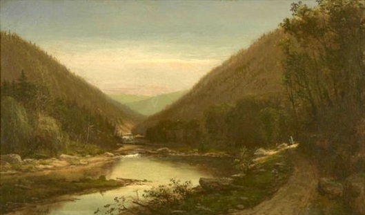 Figures On The Conemaugh River