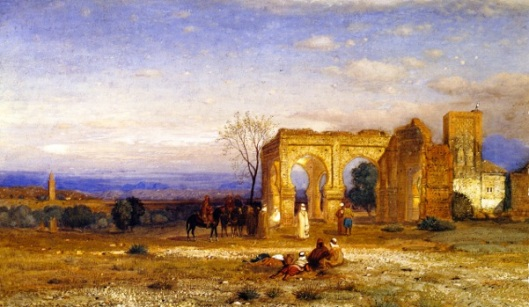 Gathering By The Ruins
