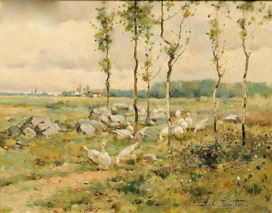 Landscape With Geese