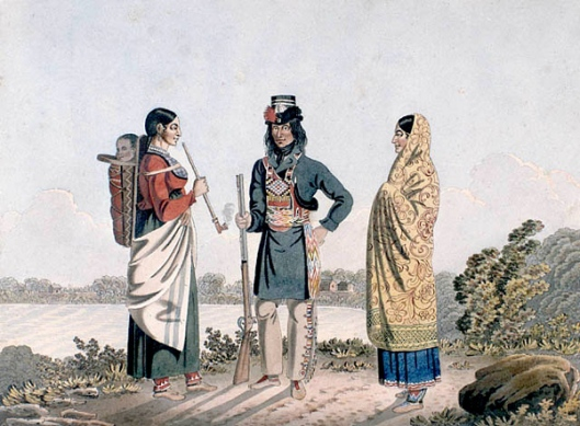 Metis Man With Two Spouses