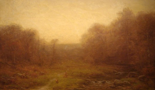 Misty Morning - October Landscape