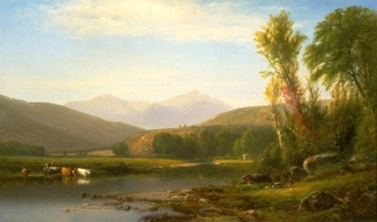 Mount Madison From The Androscoggin River