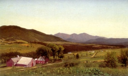Mount Starr King And The Presidential Range From Lunenburg, VT