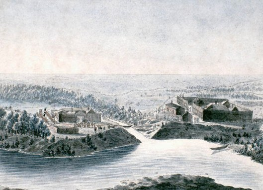 Pembina Forts In 1822