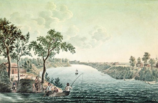 Summer View In The Environs Of The Company Fort Douglas On The Red River