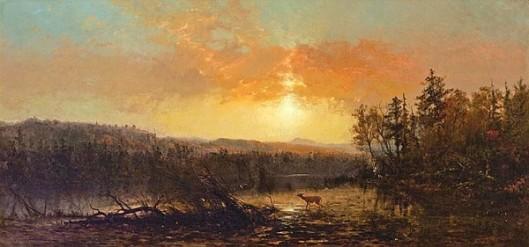 Sunset In The Adirondacks