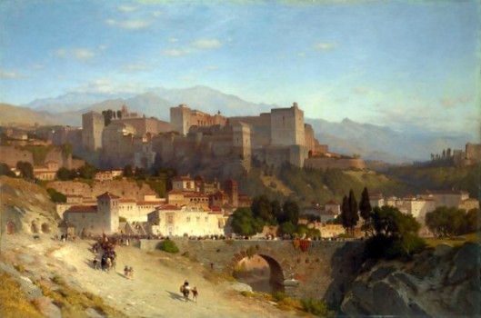 The Hill Of The Alhambra, Granada