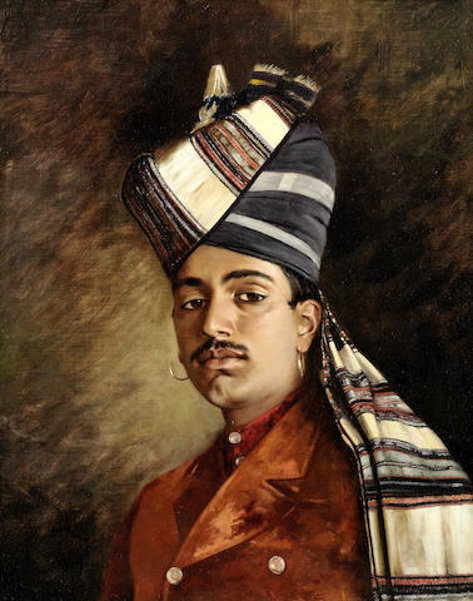 A Rajput Cavalry Trooper