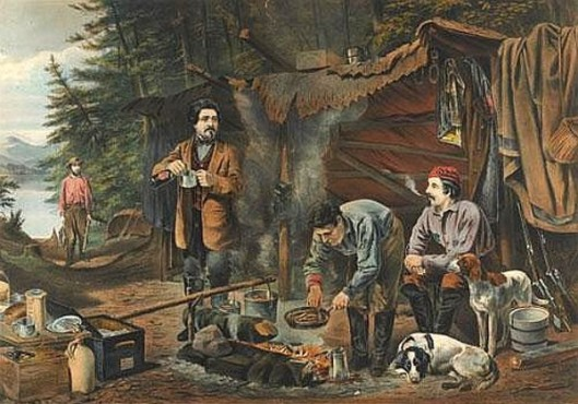 Camping In The Woods - A Good Time Coming