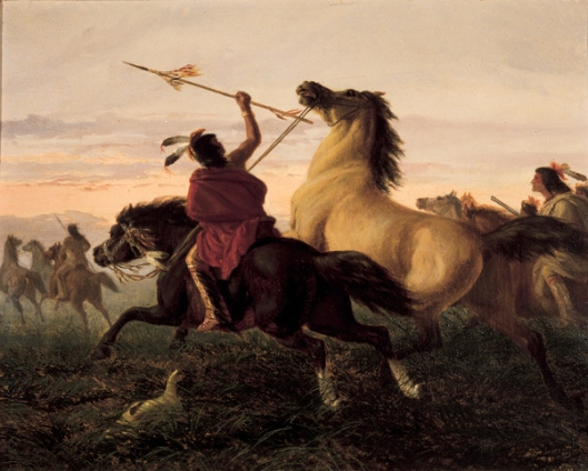 Indians Stealing Horses