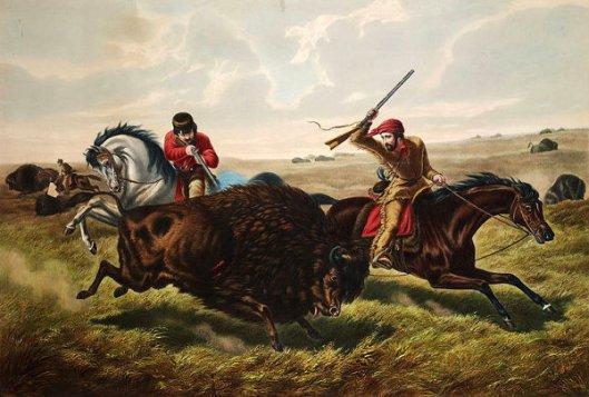 Life On The Prairie - The Buffalo Hunt