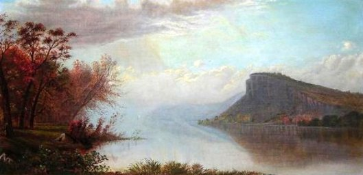 Maiden Rock On The Mississippi, From The North