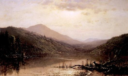 Mountains And Lake, Adirondacks