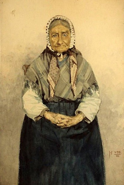 Old Lady Seated