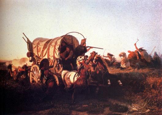 The Attack On The Emigrant Train