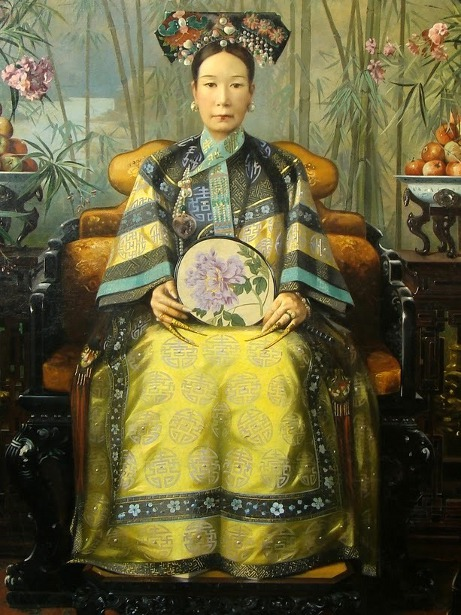 The Dowager Empress Cixi (Tzu Hsi)