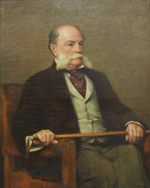 Charles Bradley Isham (The Artist's Father)