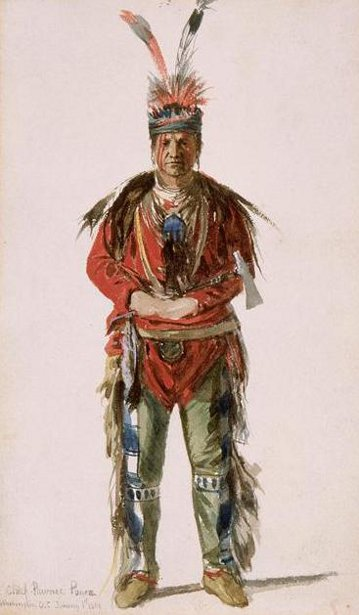 Chief Pawnee Ponca