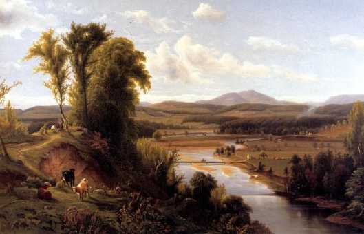 Connecticut River Valley, Vermont (Mt. Holyoke)