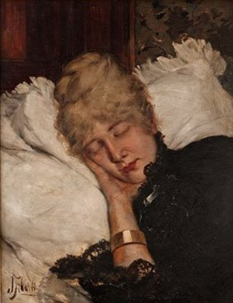 A Woman Asleep