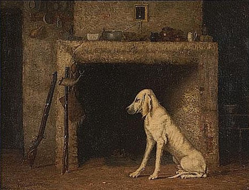 Interior Scene With Hound