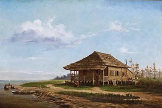 North Shore, Lake Pontchartrain - Fisherman's Cabin
