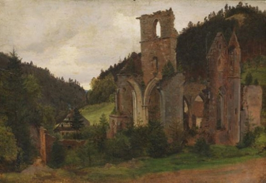Ruin Of All Saints Monastery In Oppenau, Lierbachtal